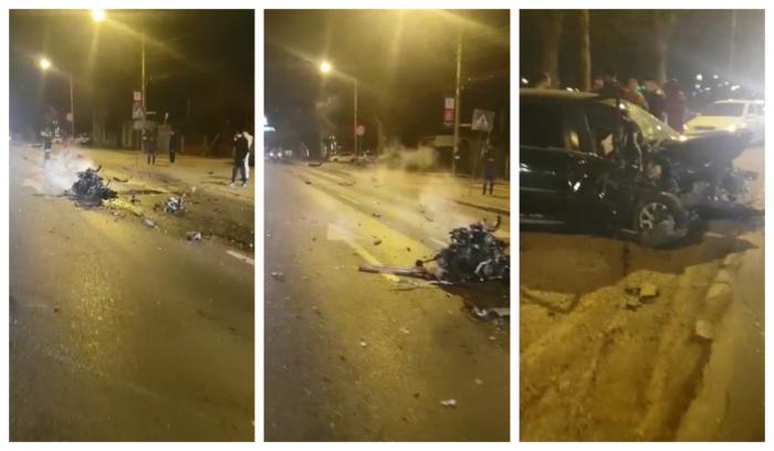 Accident la Chitila