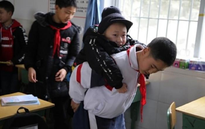 Copii prieteni din China