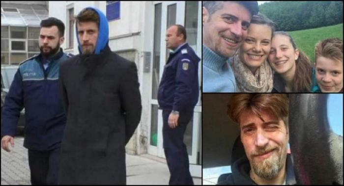 Criminalul din Braşov, declaraţii aiuritoare în instanţă. Buliga a explicat de ce şi-a ucis soţia şi cei doi copii (Video)