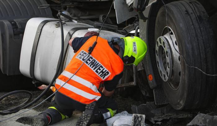 Şofer român, accident grav pe o autostradă din Austria