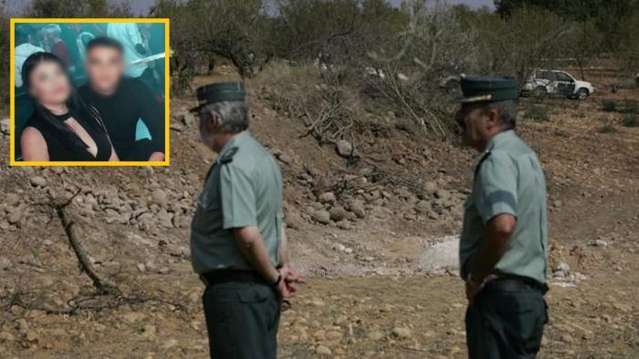 Polițiști spanioli la locul unei crime