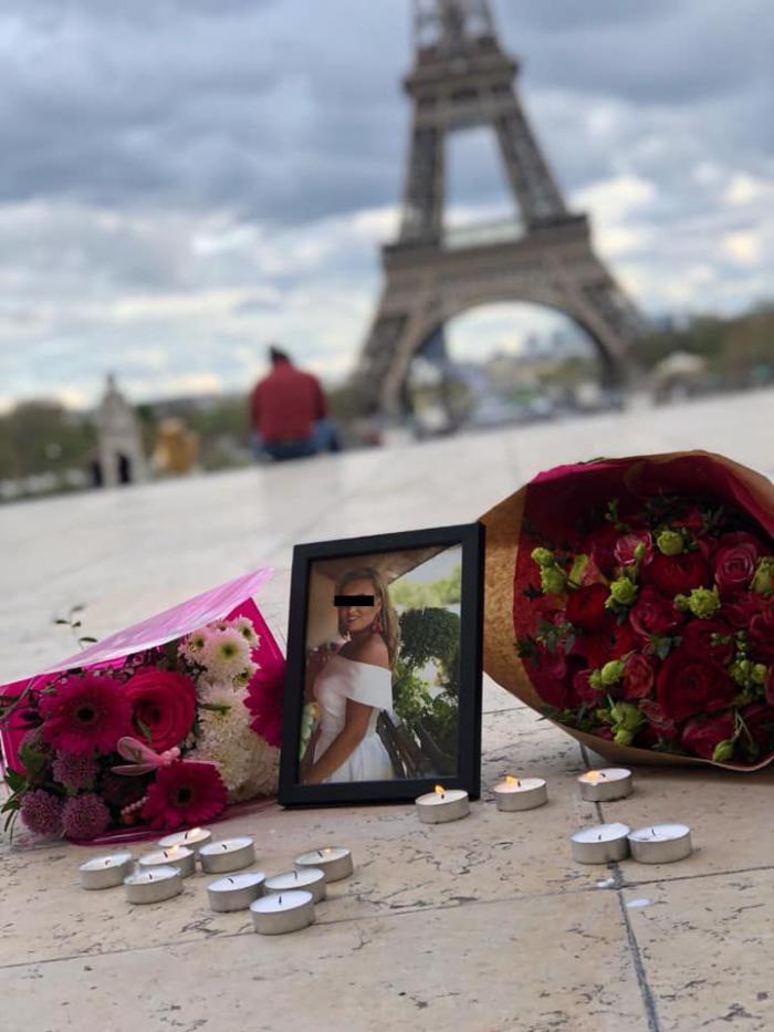 Andreea este fata din Gilău moartă la Paris în urma unui accident tragic