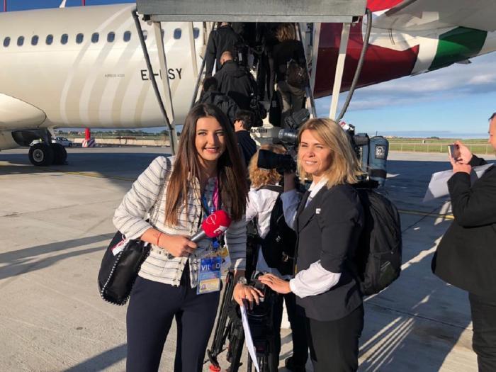 Reporterii Observator, în avionul Papei Francisc