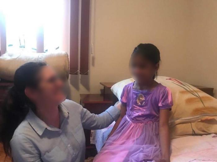 Primele imagini cu Sorina, după ce a ajuns la familia adoptivă