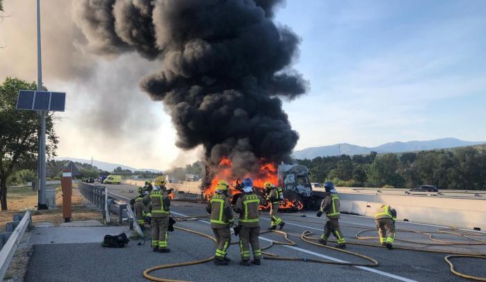 """Băieţelul şoferului român mort, ars în cabină, în Spania, l-a rugat să nu mai plece în cursă: """"E ultima oară, Luisito!"""""""