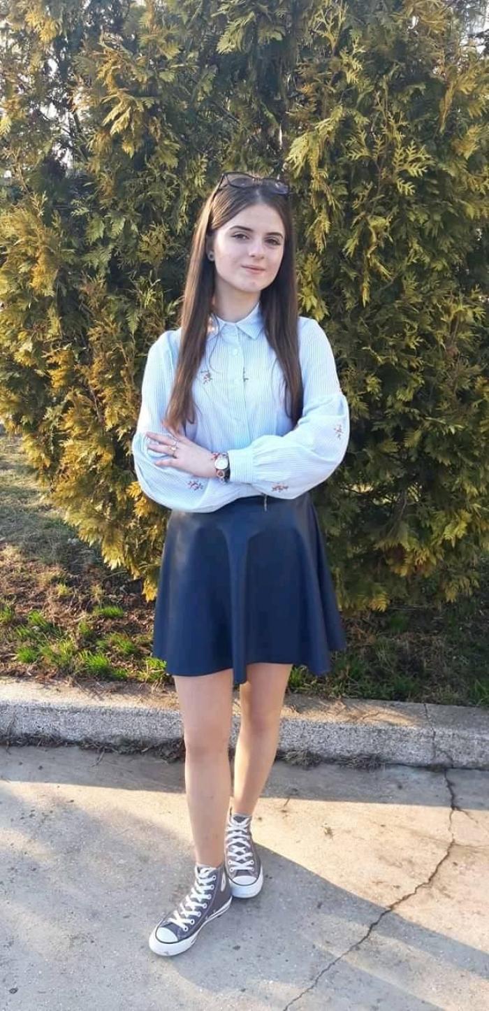 Alexandra Măceşanu este fata dispărută în Caracal