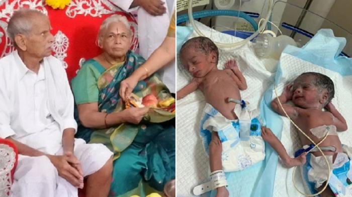 O femeie a născut gemeni la 74 de ani