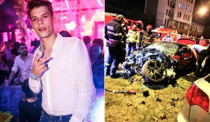Mario Iorgulescu, fiul lui Gino Iorgulescu, accident cu Aston Martin