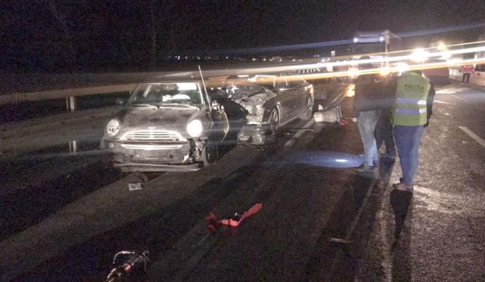 Tânără din Bucureşti, accident grav în Lazaret, Sibiu