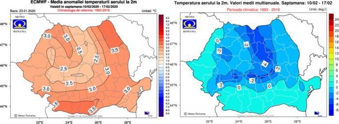 Prognoza meteo 10-17 februarie 2020