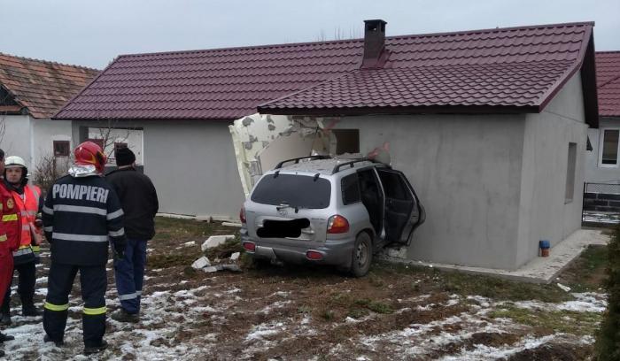 Accident în Chiuza, Bistriţa-Năsăud