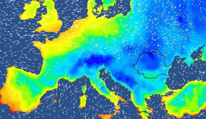 Vremea 16 - 29 noiembrie 2020. Val de aer polar în România, meteorologii anunță lapoviţă şi ninsori