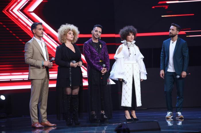 Grupa Deliei, la Dueluri, în X Factor sezonul 9