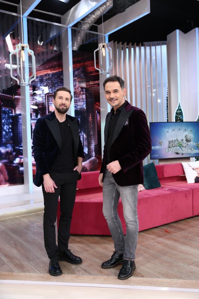 Răzvan şi Dani, în platoul de la matinal