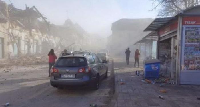 Un cutremur puternic s-a produs, marţi, în Croaţia
