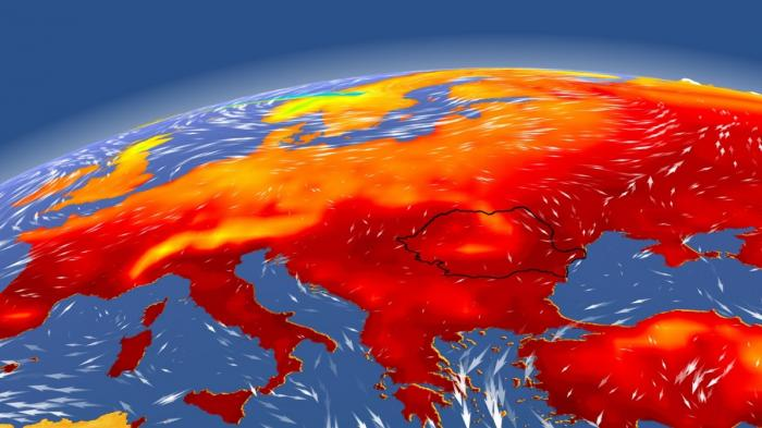 ANM anunță temperaturi de 40 de grade Celsius, în următoarele zile