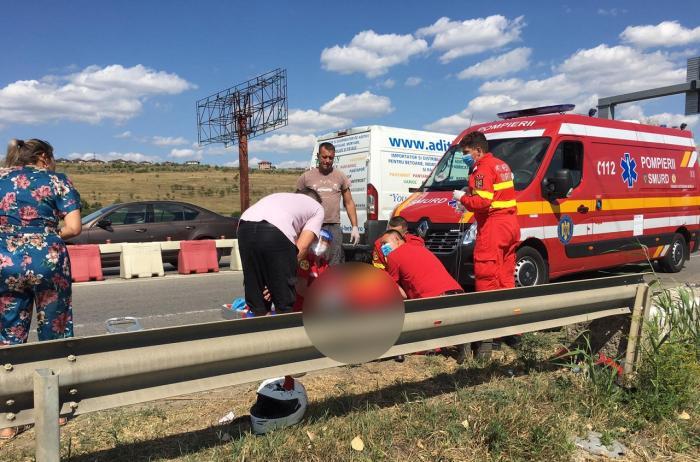 Sfârșit tragic pentru un tânăr motociclist din Iași. Bogdan era căsătorit și avea un copil mic