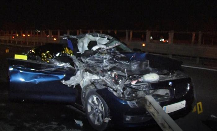 Șoferul de TIR care a ucis o fetiță și pe mama ei,  când a întors pe autostradă, avea magnet pe tahograf