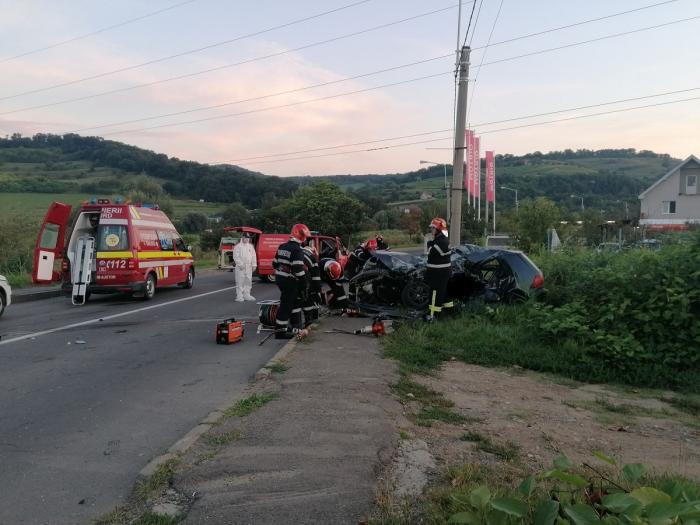 Un tânăr de 24 de ani din Bârghiș a murit într-un grav accident rutier produs pe șoseaua de centură a Mediașului