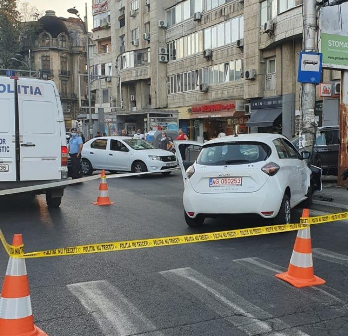 Accidentul a avut loc luni seara pe Bulevardul Corneliu Coposu