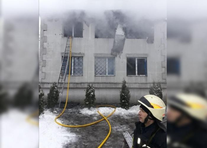 Cel putin 15 morti, într-un incendiu la un azil de bătrâni din Ucraina