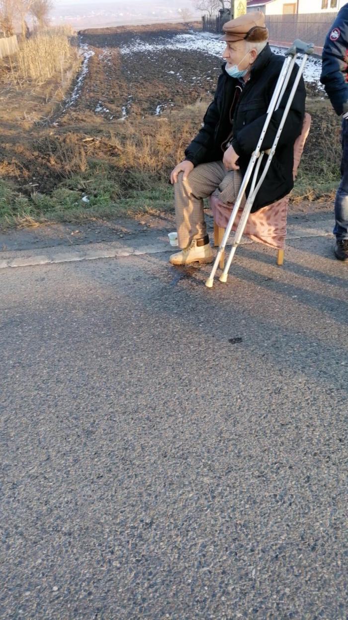 Șoferul, un bărbat cu dizabilități, abia își scosese autoturismul din service
