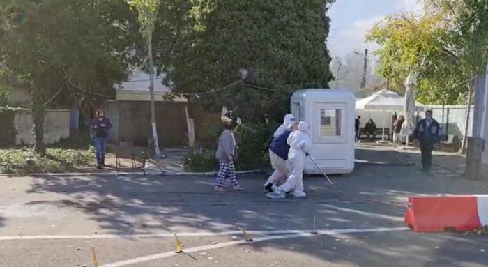 Incendiu la secţia ATI a Spitalului de Boli Infecțioase Constanța