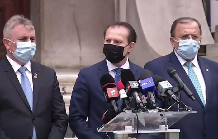 Florin Cîţu a declarat că PNL nu a făcut nicio propunere pentru funcţia de premier