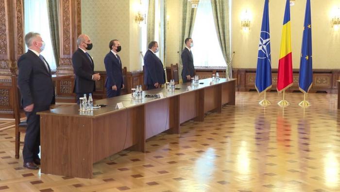 PNL a sosit la consultările de la Palatul Cotroceni