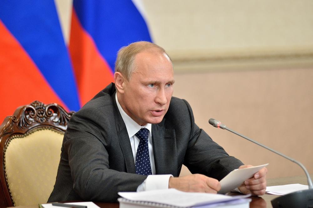Vladimir Putin, preşedintele rus