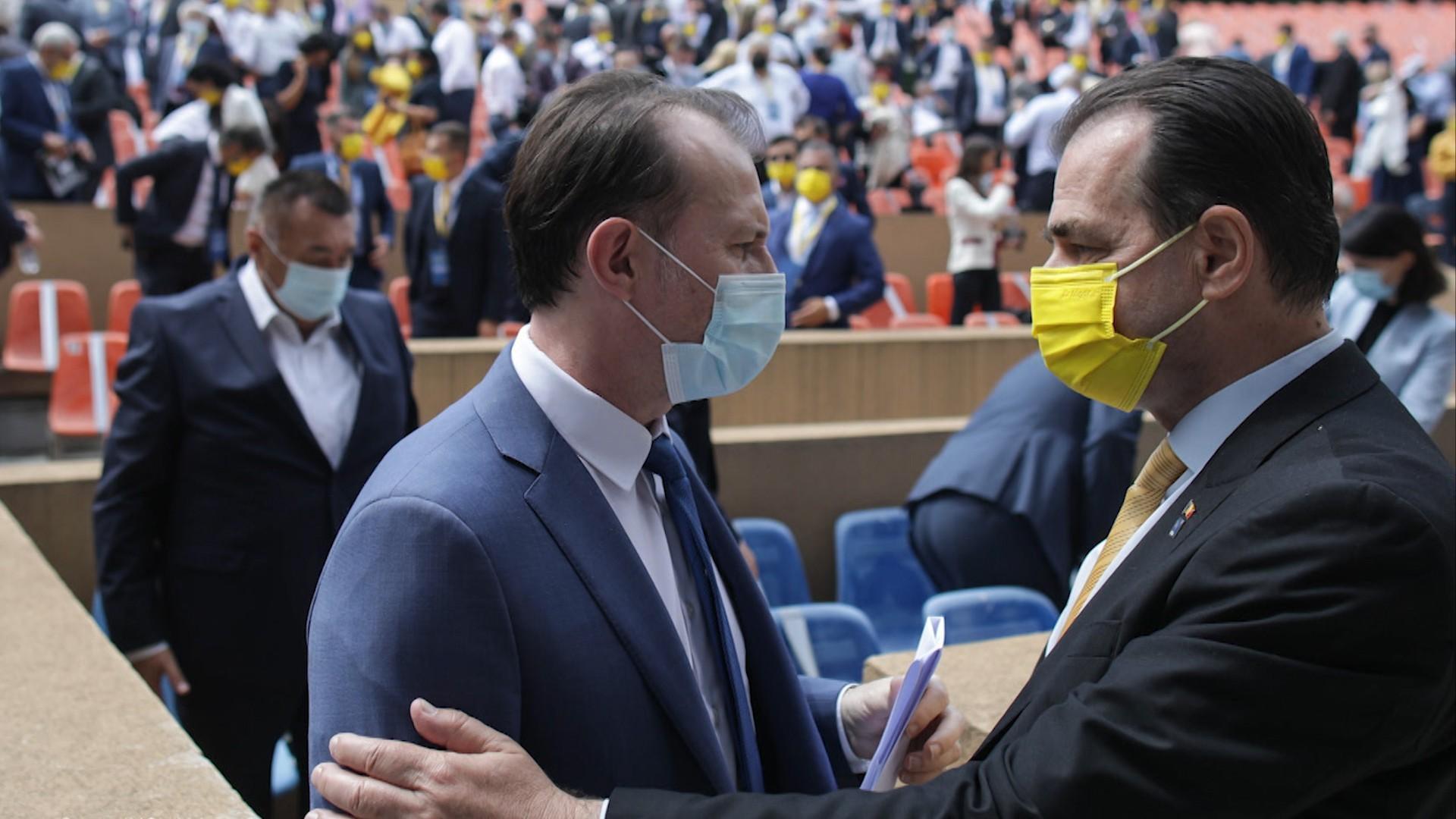 Partidul nu va susţine un guvern condus de Cioloş / Cîţu vrea să se împace cu Orban