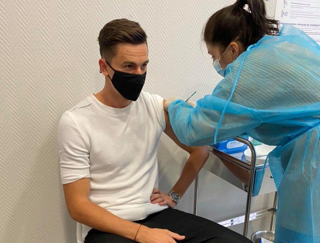 Mesajul fotbalistului Florin Gardoș, după ce a ezitat să se vaccineze