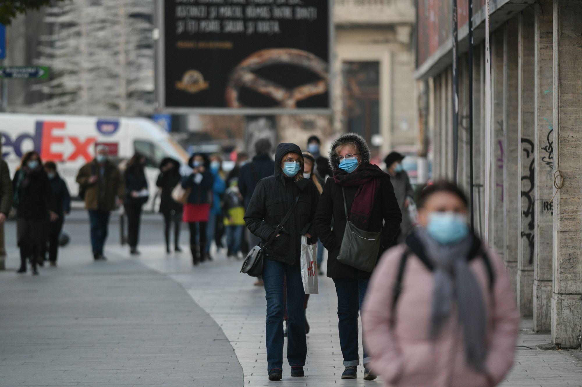 Rata de infectare în Bucureşti