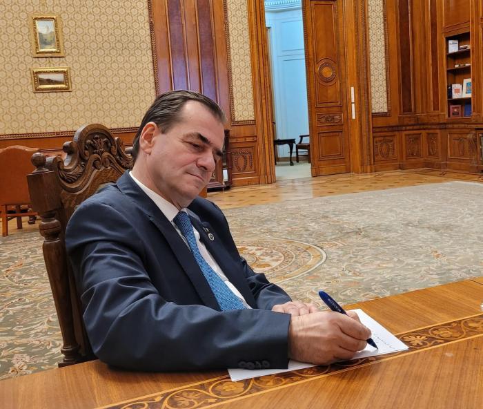 Ludovic Orban și-a dat demisia din funcția de președinte al Camerei Deputaților