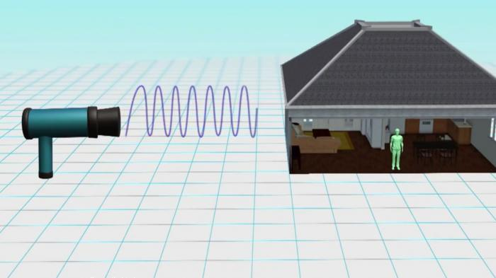 Animație grafică. Cum funcționează arma secretă cu microunde care ar fi îmbolnăvit sute de americani. Unde au apărut cele mai noi cazuri
