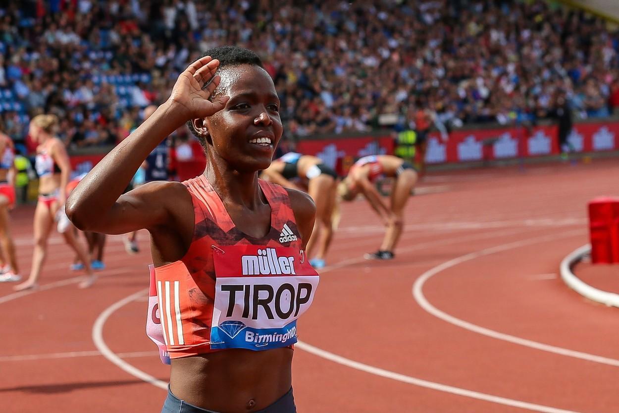 Atleta olimpică Agnes Tirop a fost găsită înjunghiată mortal în casa sa din Kenya
