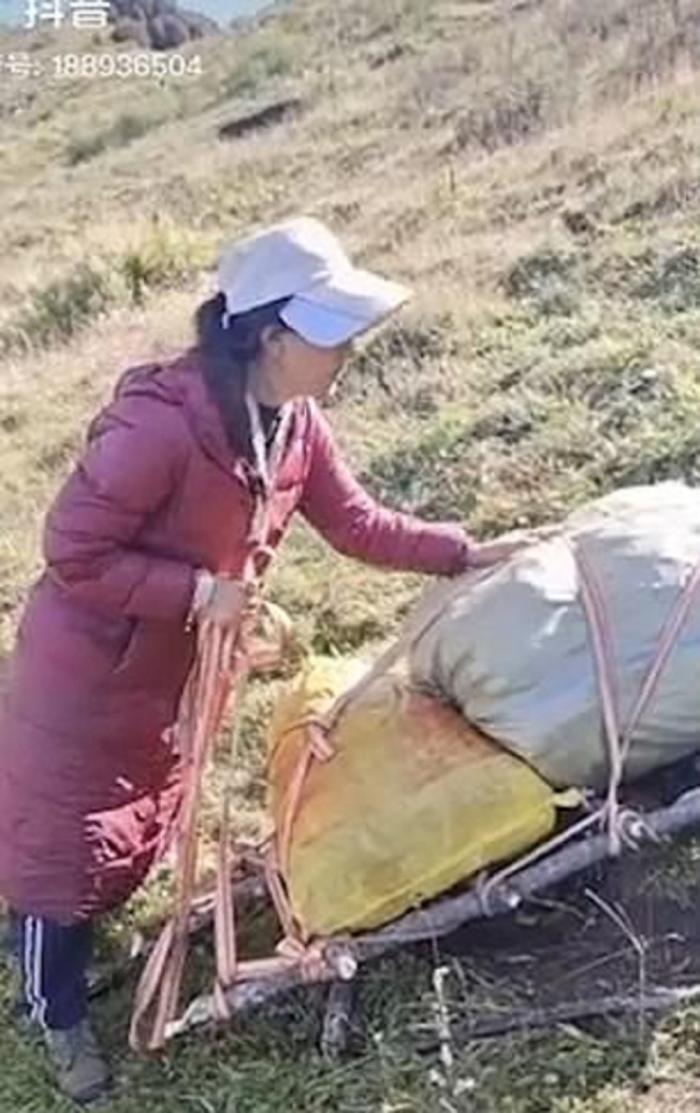 Amuchu, în vârstă de 30 de ani, originară din Tibet