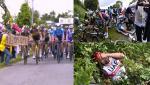 Pedeapsă de patru luni de închisoare pentru femeia care a provocat accidentarea a zeci de concurenţi la Turul Franţei