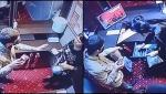 Jaf filmat la o sală de jocuri din Năvodari. Un tâlhar a intrat peste casieră cu un ciob și a luat toți banii din casa de marcat