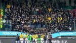 Momentul în care tribunele unui stadion s-au prăbușit cu tot cu suporteri, la finalul meciului, în Olanda