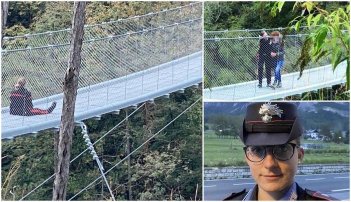 O polițistă a salvat o mamă de la moarte, după ce i-a vorbit aproape 4 ore. Biata femeie voia să se arunce de pe pod, în Italia
