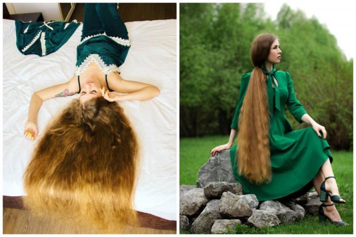 O femeie de 35 de ani din Rusia şi-a propus să devină o adevărată Rapunzel, cu plete lungi, bogate