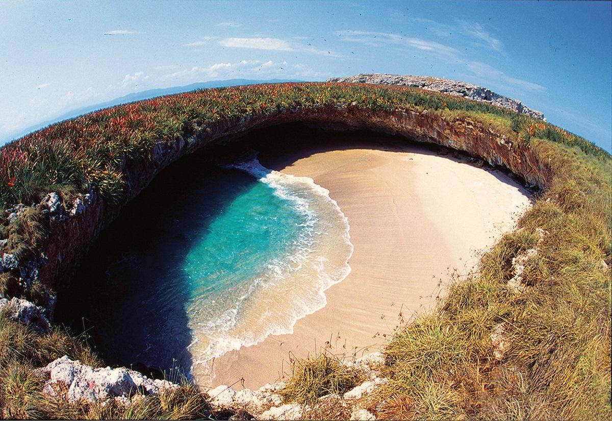 Peisaj idilic este ascuns pe insulele Marieta din Peurto Vallarta