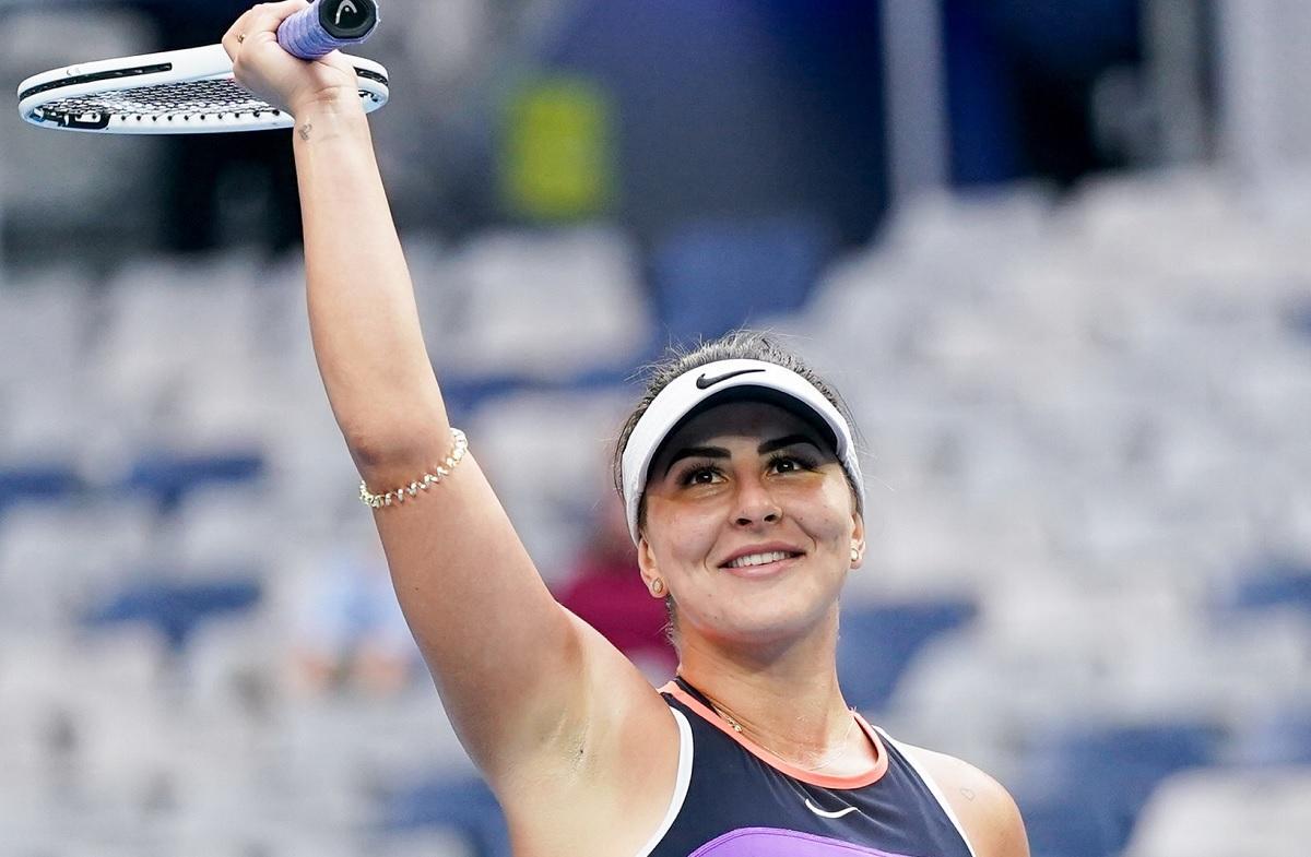 Bianca Andreescu a câştigat primul meci oficial jucat după aproape un an şi jumătate de pauză