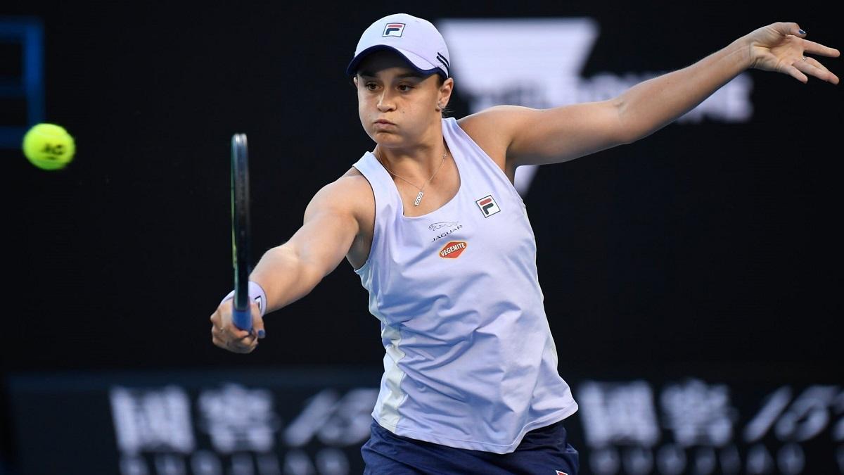 Ashleigh Barty a câştigat clar meciul din primul tur de la Australian Open 2021