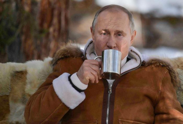 Vladimir Putin a petrecut un weekend în taigaua siberiană