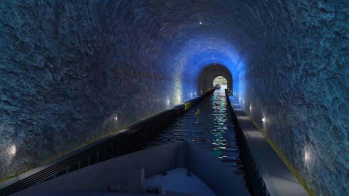 Primul tunel pentru vapoare din lume va fi construit în Norvegia.Costă 330 milioane dolari. FOTO