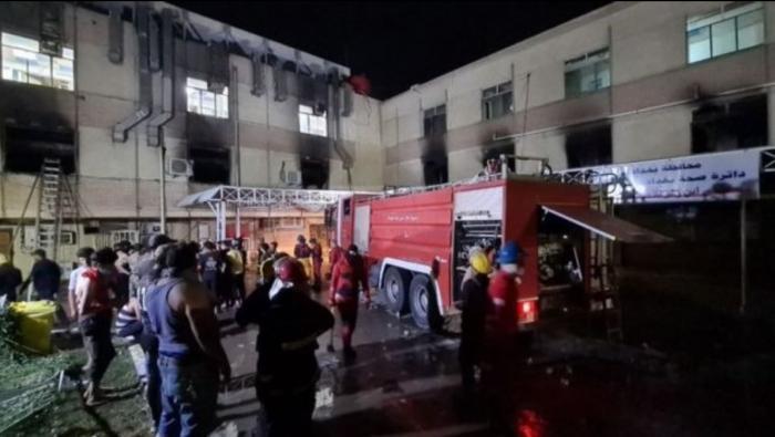 Cel puțin 82 de morți după explozia unui rezervor de oxigen în secţia ATI a unui spital din Bagdad, Irak