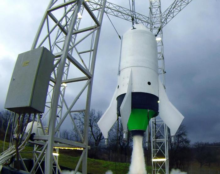 EcoRocket a pornit pentru a patra oara motorul de aterizare in aceasta saptamana