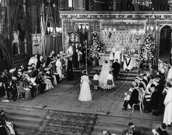 VIDEO. Căsătoria Prințului Philip cu Regina Elisabeta a Marii Britanii. Imaginile care au scris istorie